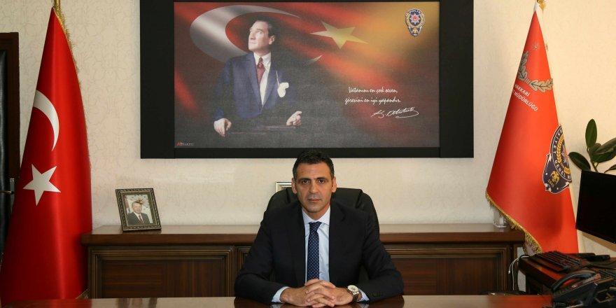Van İl Emniyet Müdürlüğü'ne hemşehrimiz Atanur Aydın atandı
