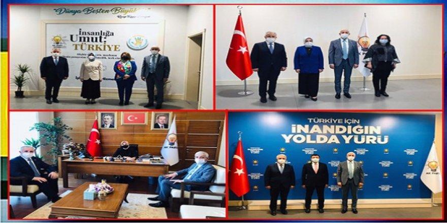 Milletvekilleri Arslan ve Kılıç, Genel Başkan Yardımcılarını ziyaret etti