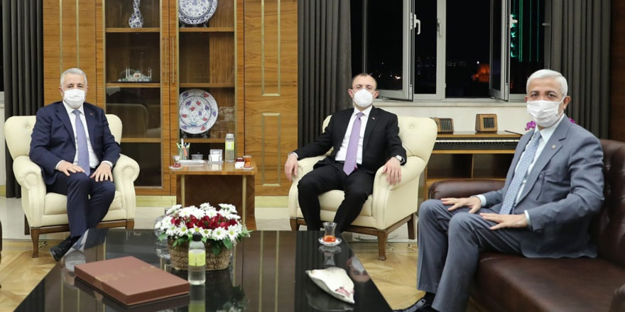 Arslan ve Kılıç, Ticaret Bakanını Kars'a davet etti