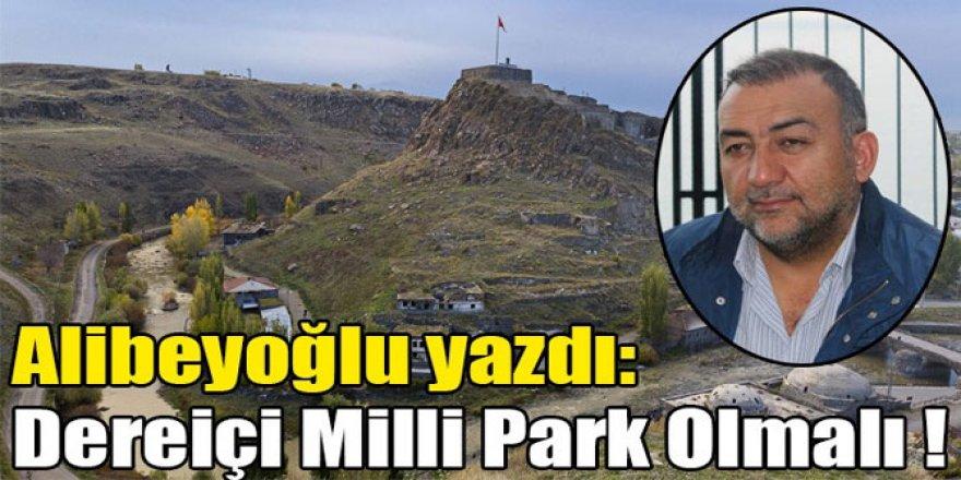 Alibeyoğlu yazdı: Dereiçi Milli Park Olmalı !