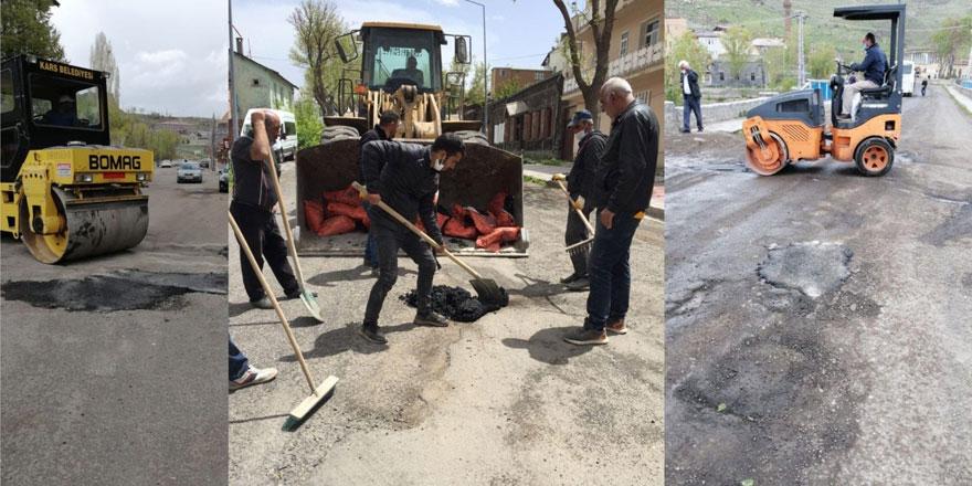 Şehir içi yol bakım ve onarım çalışmaları devam ediyor