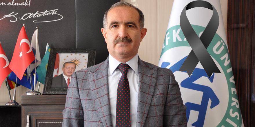 KAÜ Rektörü Prof. Dr. Hüsnü Kapu'nun babası vefat etti