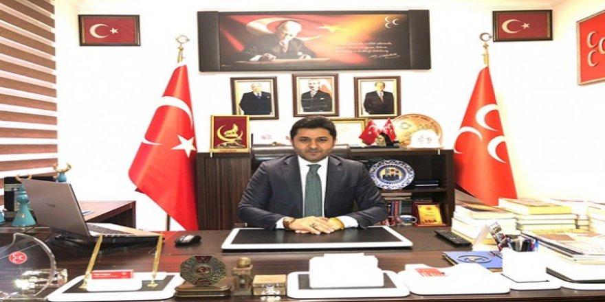 MHP İl Başkanı Tolga Adıgüzel'in Ramazan Bayramı mesajı