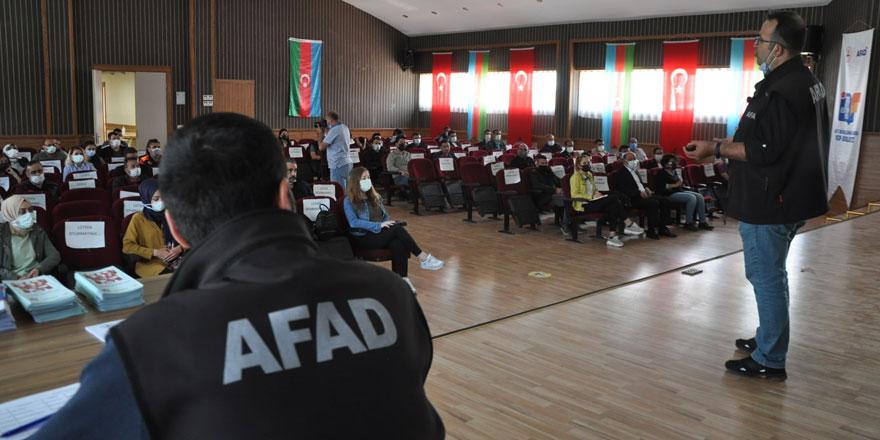 AFAD'IN Afet farkındalık eğitimleri devam ediyor