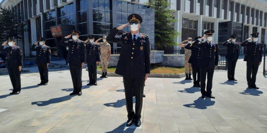 Kars'ta Jandarma teşkilatının 182. yıldönümü etkinliği