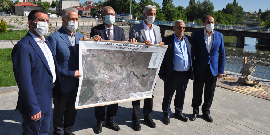 Kars'a 175 milyon liralık proje : Atıksu Arıtma Tesisi yapılıyor
