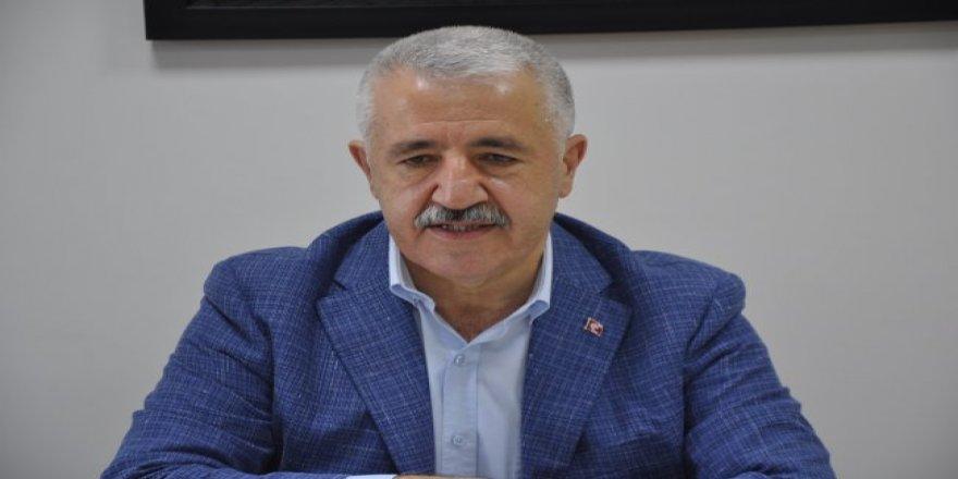 """Ahmet Arslan : """"Doğu Ekspresinin seferlere başlaması için takipteyiz"""""""