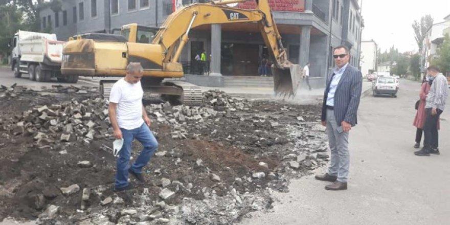 """Yusufpaşa Mahallesi Muhtarı Ferit Koç : """"Mahallemiz tarihi dokusuna kavuşuyor"""""""