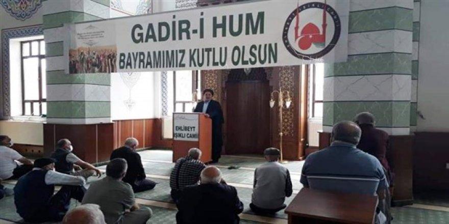 "Seyyid Ahmet Erdem :  ""Gadir-i Hum, Ehlibeyti anlama günüdür"""