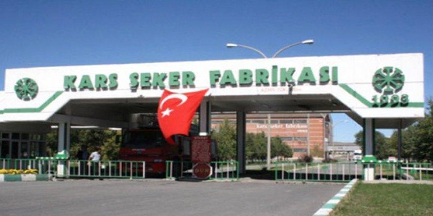 Özelleştirme İdaresi Kars Şeker Fabrikası'nın arazisini sattı