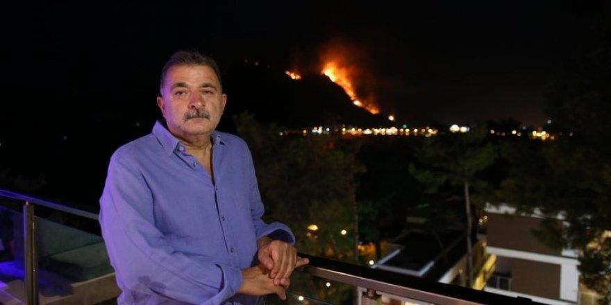 """Turgut Torunoğulları: """"Devletin her kurumu yangında Marmaris'teydi"""""""
