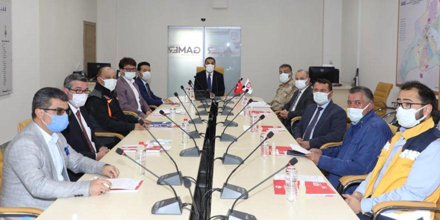 Kars'ta 112 Acil Çağrı Koordinasyon toplantısı yapıldı