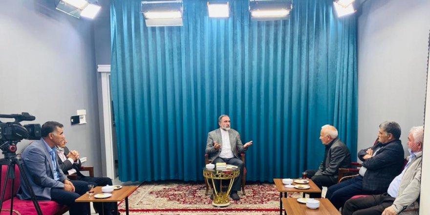 İYİ Parti Kars İl Teşkilatından Ehlibeyt Derneği'ne Ziyaret