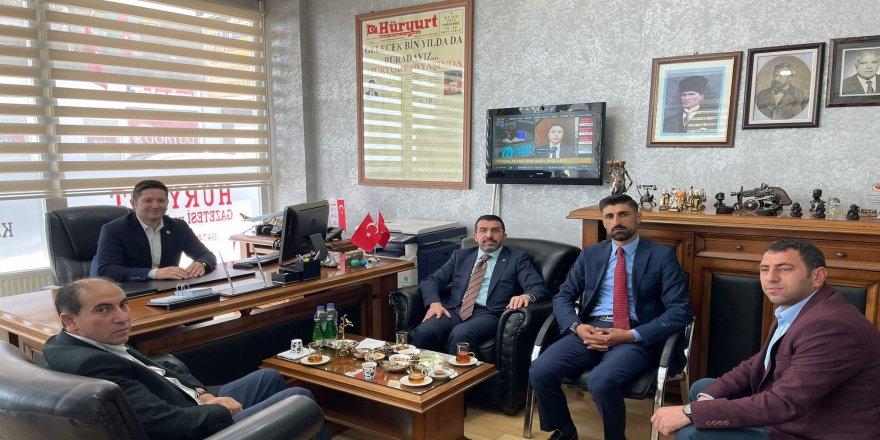Ak Parti Kars İl Başkanlığı'ndan gazetekars.com'a ziyaret