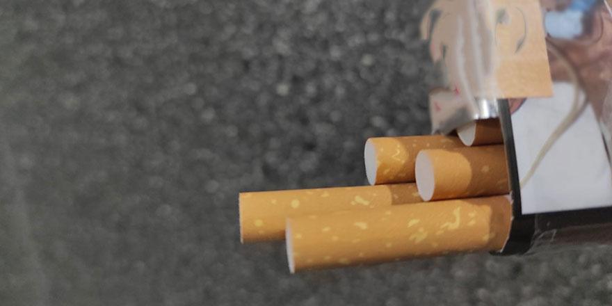 İhbarı değerlendiren jandarma kaçak sigara yakaladı