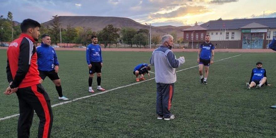 Kağızman Gençler Birliği Spor hazırlıklarını sürdürüyor