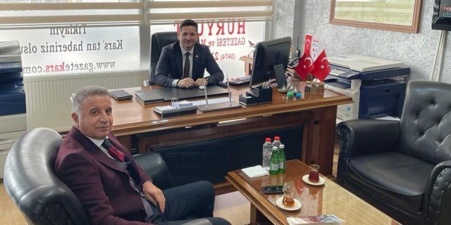 Türkiye Kızak Federasyonu Genel Başkanı Ahmet Recep Tekcan'dan gazetekars.com'a ziyaret