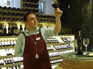 Şarap ve Kars peyniri...