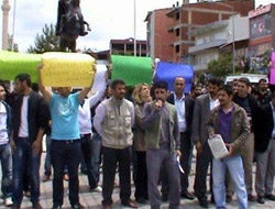 Kağızmanda BDP Gösterisi
