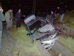 Kağızman'da trafik kazası