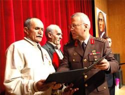 Devlet Övünç Madalyası Töreni