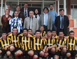 Yüksekokul'da Futbol Turnuvası