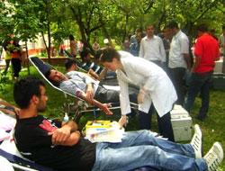 KAÜ'den Kan Bağışı