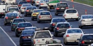 Trafiğe kayıtlı araç sayısı 45 bin 44 oldu