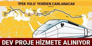 Büyük gün bugün! Bakü-Tiflis-Kars Demiryolu açılıyor...