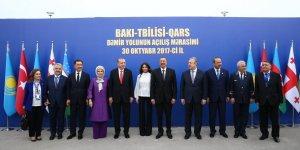 """Bakü-Tiflis-Kars Demiryolu"""" hattının açılışı"""