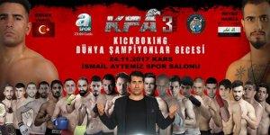 Kars'ta Kick Boks Dünya Şampiyonluğu