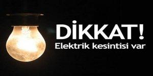 Kars'ta bazı köylerde elektrik kesintisi