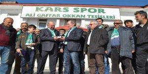 Kars 36 Spor'a 85 bin TL destek
