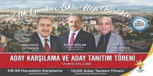 AK Parti Adayları Cuma Günü Kars'a Geliyor