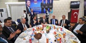 """UDH Bakanı Arslan, """"Kars Buluşması"""" İftar programına katıldı"""