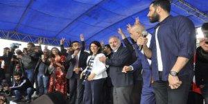 """Pervin Buldan: """"Bu ülkede yaşayan herkese en büyük huzuru getirmenin sözünü veriyoruz"""""""