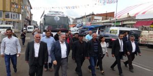 HDP Adayları Selim, Sarıkamış ve Kağızman'da