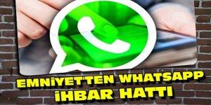 Polis WhatsApp ihbar hattı Kars'ta kullanılmaya başlandı