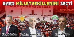 KARS'TA SONUÇ DEĞİŞMEDİ : 2 AK PARTİ - 1 HDP