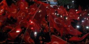 Binlerce Karslı 15 Temmuz'un 2'inci yıl dönümünde sokaklara döküldü