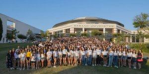 Karslı Öğrenciler Sabancı Üniversitesi'nden Sertifikalarını Aldılar