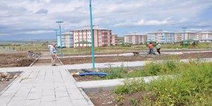 """KAÜ'de """"Kampüs Park"""" çalışmaları tüm hızıyla devam ediyor"""