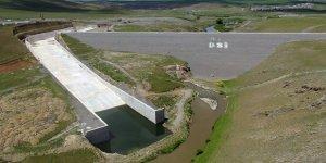 Kars Barajında su tutma işlemi gerçekleştirildi