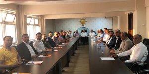 AK Parti'de seçim değerlendirme toplantısı