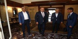Milletvekillerinden Bakan Çavuşoğlu'na hayırlı olsun ziyareti
