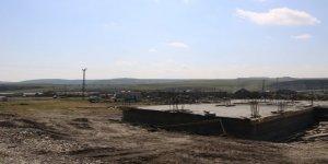 Çamçavuş köyü yeni yerleşim yerinde çalışmalar devam ediyor