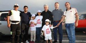 """Vali Rahmi Doğan'dan """"Kırmızı Düdük"""" projesine destek"""