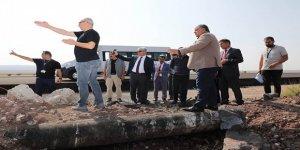 Vali Doğan, Harakani Havalimanında incelemelerde bulundu
