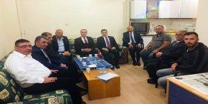 İYİ Partililer'den Kars basınına ziyaret