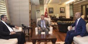 Azerbaycan Ankara Büyükelçisi, Kars Başkonsolosu ile Ağrı'da